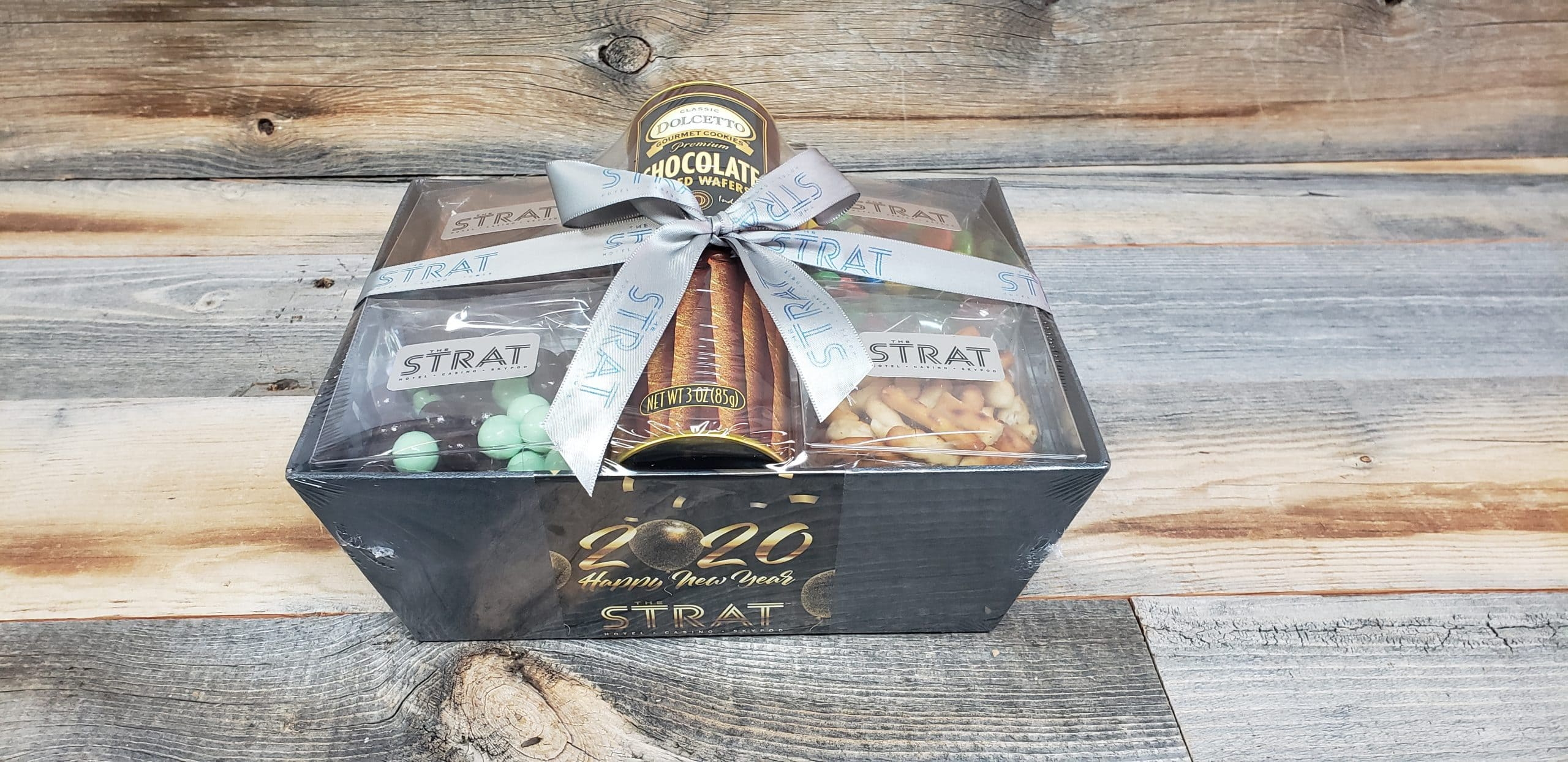 The Strat Happy New Year Gift Basket