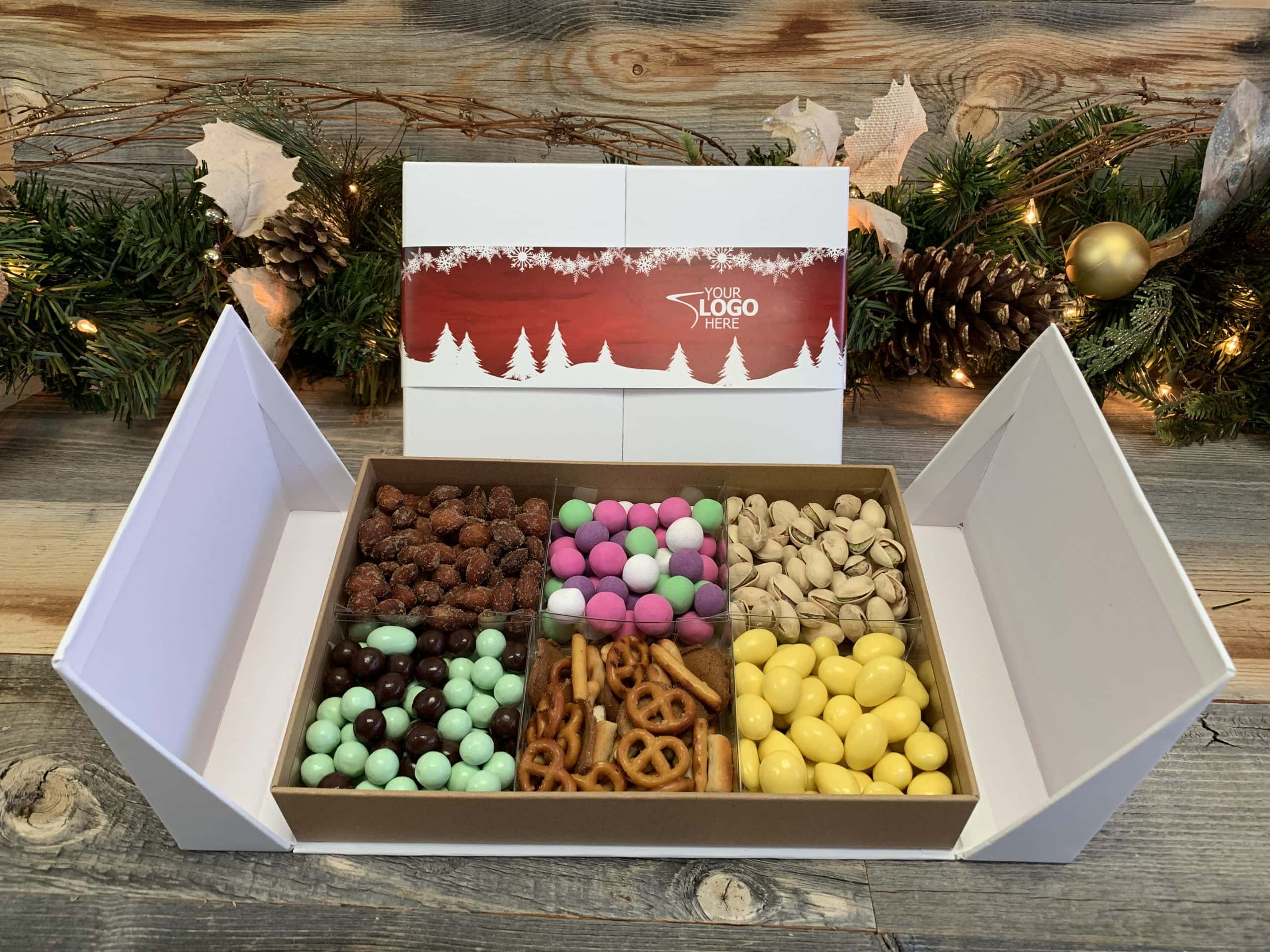 Winter Gatefold Gift Box