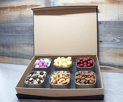 Six Item Gift Box with Tins